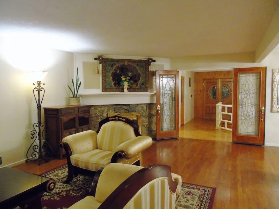 Living room on 2nd floor
