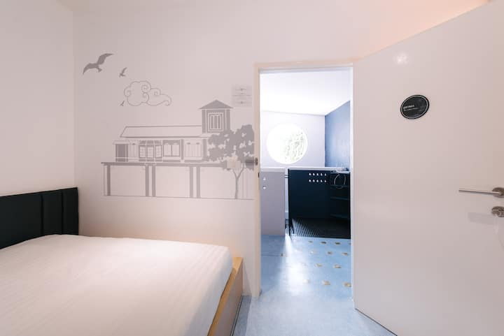 Phan Fa Heritage Boutique Hostel & Cafe-Double Bed