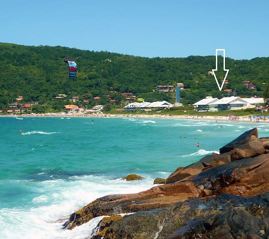 Pé na Areia - Praia da Lagoinha - Florianópolis