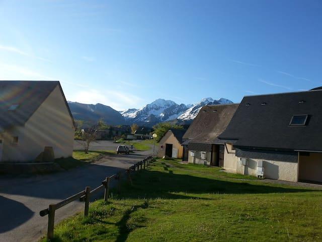 Agréable chalet au pied des pistes de Val-Louron - Adervielle-Pouchergues - Casa