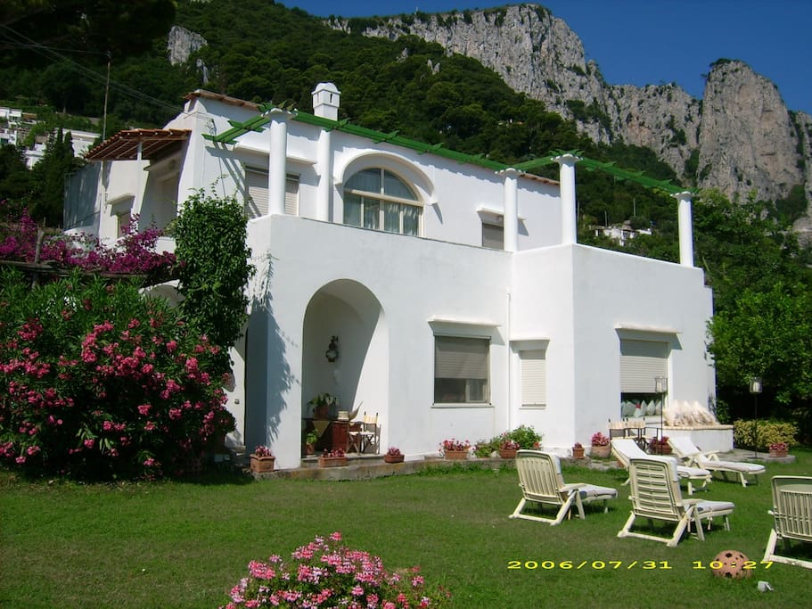 Villa Marunnella A Capri Villas For Rent In Capri