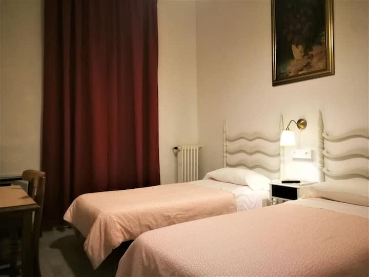 Habitació doble amb dos llits