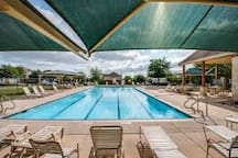 Take a dip to cool off in our neighborhood pool. It's only a couple of blocks away.