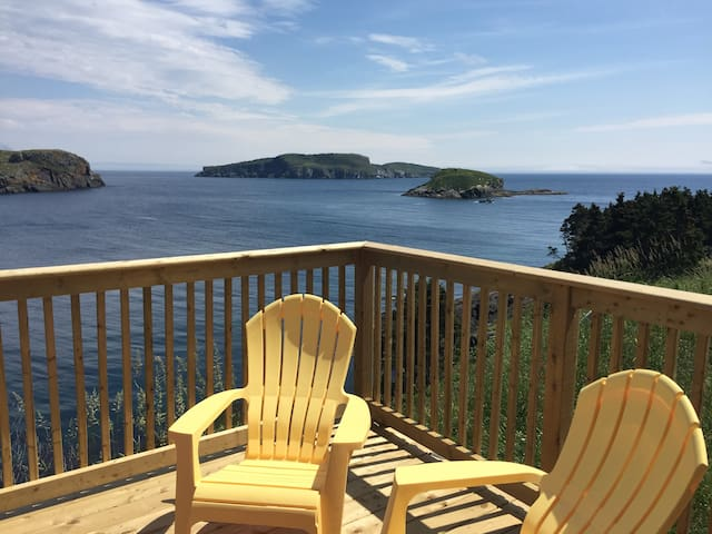 Whale Watcher House - Bay Bulls Apartment - Tors Cove