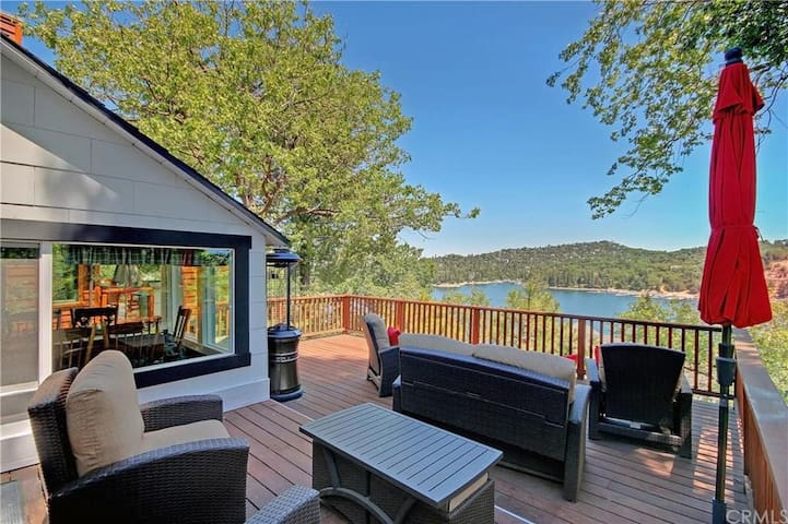 Incredible 3 level lake view - newly available! - Lake Arrowhead