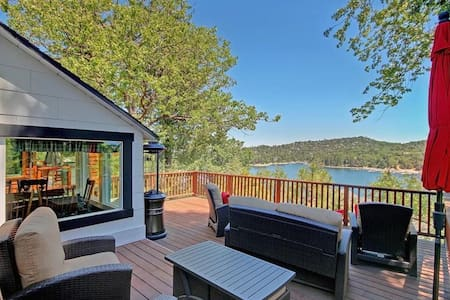 Incredible 3 level lake view - newly available! - Lake Arrowhead - Dom