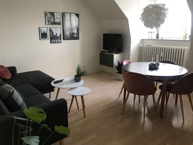 Skøn lejlighed i centrum