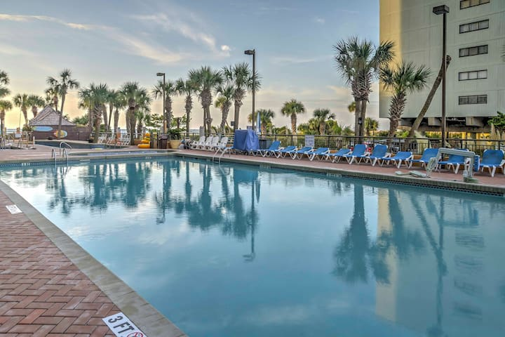 This vacation rental studio is located at Caravelle Resort.