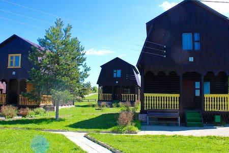 Деревянный дом - Горки (целеевский С/о) - ที่พักธรรมชาติ