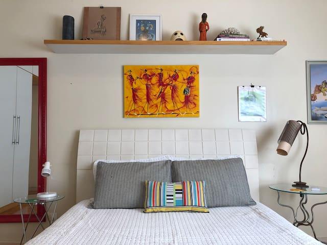 Decoração aconchegante. / Cozy décor.