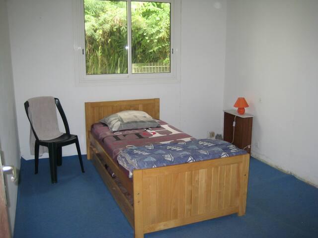 chambre dans maison sympa vue mer - Sainte-Clotilde - Hus