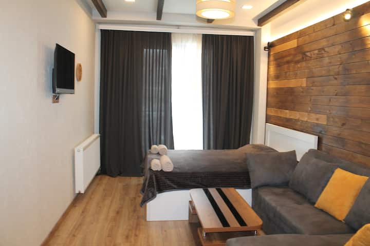Cozy Apartment Near Gondola In New Gudauri