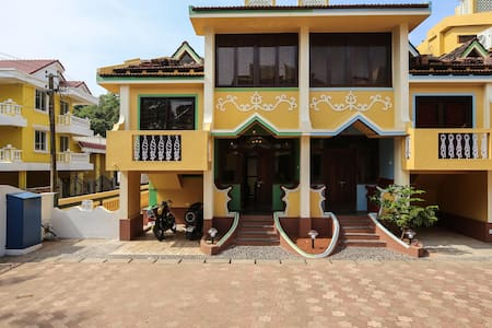 3BHK Villa with pool, ideal locale - ベノーリム