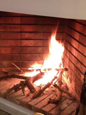 Calefacció i llar de foc.