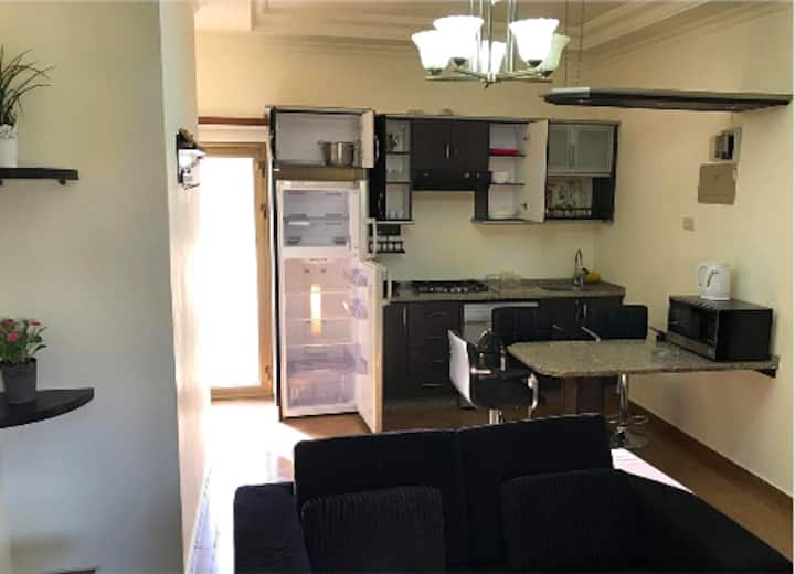 One-Bedroom Studio Apartment in Amman