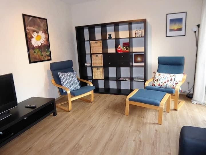 Ferienwohnung Kirchheim (Kirchheim) -, Ferienwohnung Kirchheim, 60 qm, 1 Wohnzimmer, 1 Schlafzimmer, max. 2 Personen