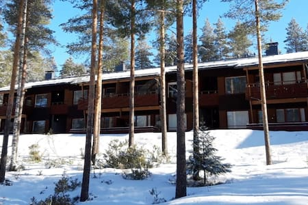 Apparment with terrace in the heart of Vuokatti