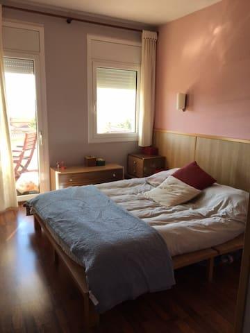 Habitación individual en barrio tranquilo - Girona - Guest suite