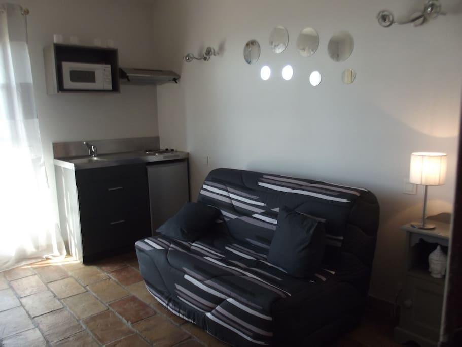 Studio dans villa antibes apartamentos en alquiler en - Chambre chez l habitant antibes ...