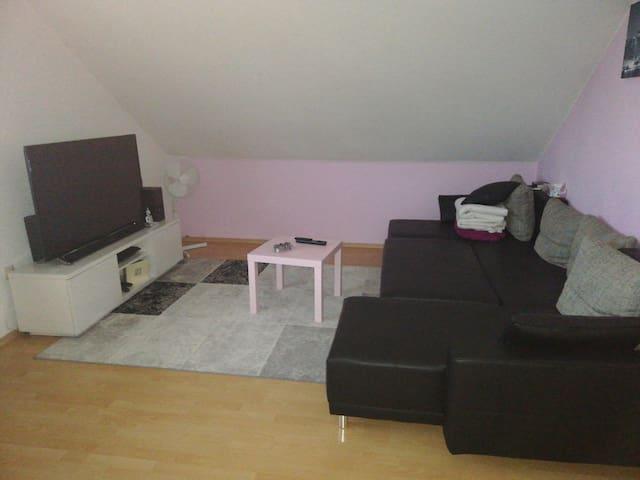 Gemütliche Wohnung in ruhiger Gegend