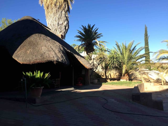 Windhoek double story apartment with views