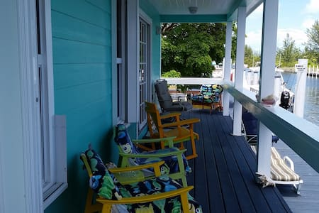 Bimini Time 2/2 with dock you will love this place