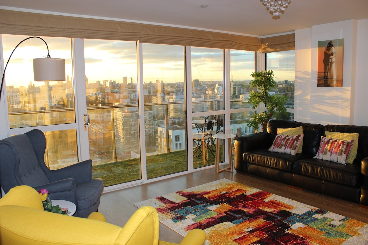 Amazing Panoramic Views Tower of London Eye Shard - Apartments for ...