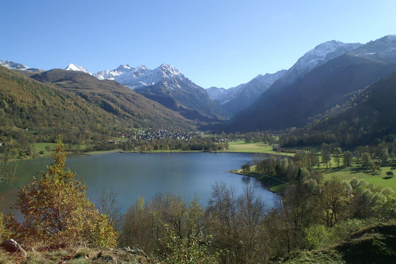 Le lac de Genos à moins de 300 m