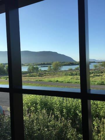 A LOVELY room for landscape lovers - Selfoss - Talo