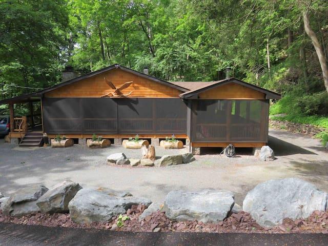 Mill Bach Lodge 3 - Hamlet of Pond Eddy, NY