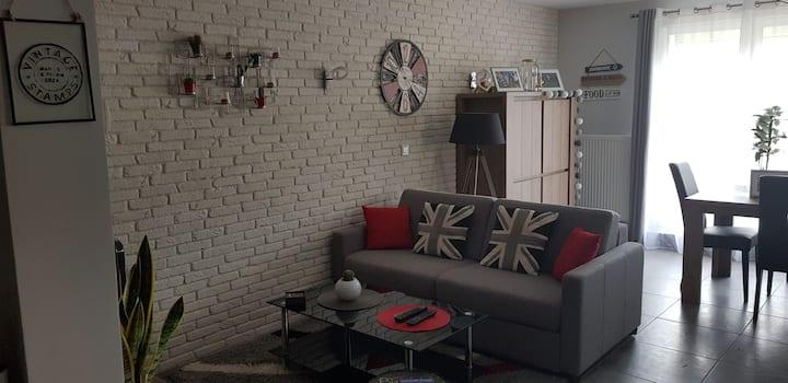 Très bel appartement 85 m2, calme, proche centre