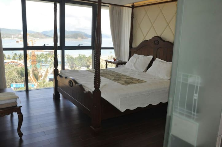 (一)迷人的大东海,山海天度假公寓,度假娱乐休闲,您最佳的选择。。。 - Sanya - Apartmen