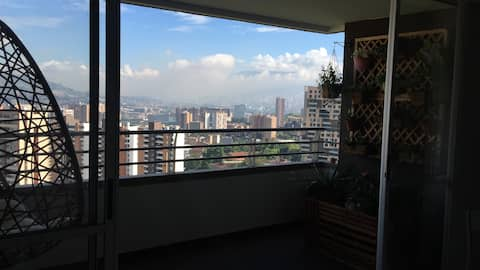 Entire apartament  with a beautiful view