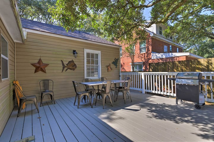 Enjoy a cookout with friends and family out on the back deck.