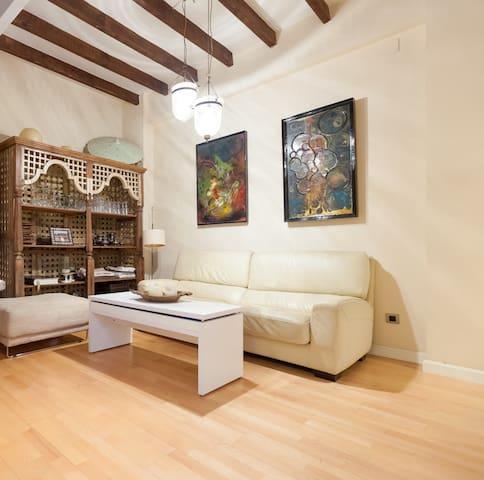 Cosy flat/ Acogedor apartamento en el centro