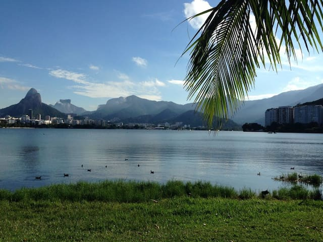 Vista Verde na Lagoa