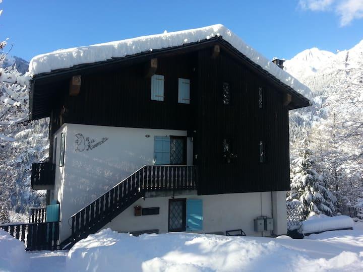 La Marmotta a Courmayeur-Mont Blanc