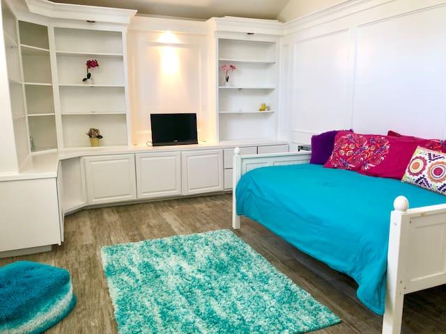 Bonus Room/Kids Den Continued. With Full bed (2nd Floor)
