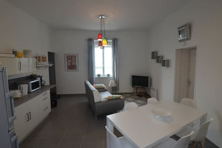 Appartement rénové face plage et port - La Turballe - Lejlighed
