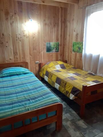 Habitación privada, acogedora. En Licanray.