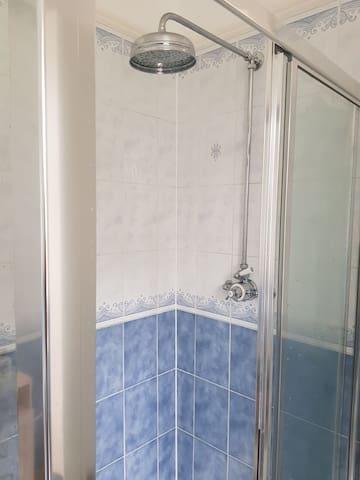 powerful shower