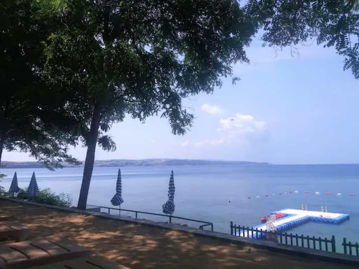 Saros da İstabul'a yakın en temiz deniz ve doğa