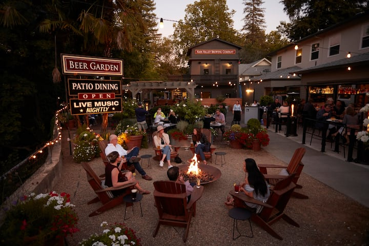 """A Room with a Brew"" - patio dining & craft beer"