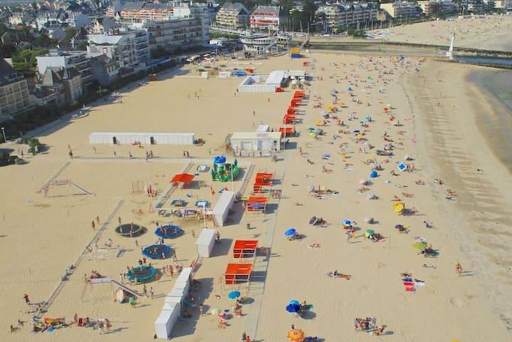 Charmant triplex familial 5mn plage ! - Le Pouliguen - Apartment