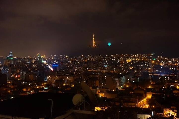 Central Apartment  with best view of Tbilisi - Tbilisi - Huis