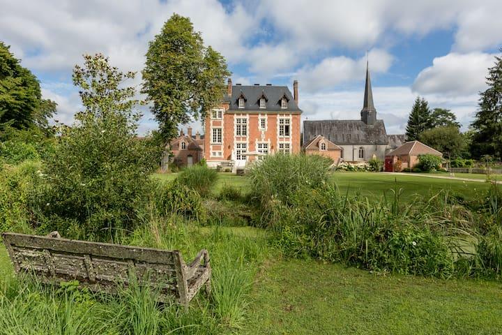 Magnifique propriété piscine, golf privé, Sologne - Chaon - Hus