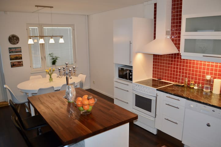 Double-bed room in a big newly renovated apartment - Stockholm - Leilighet