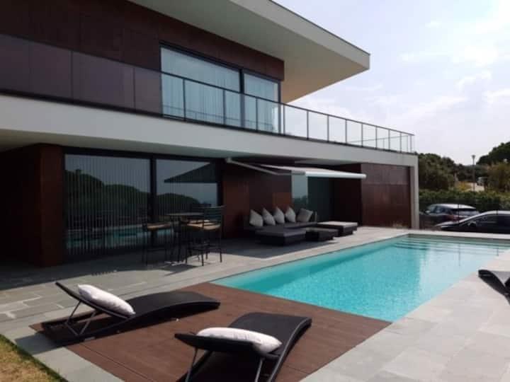 Villa d'architecte Platja d'Aro, vue Golf et Mer