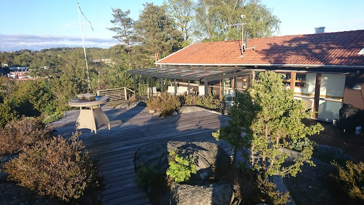 Cosy house close to sea, nature and Gothenburg