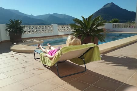 La Perla Blanca- relax in stunning mountain views - Murla